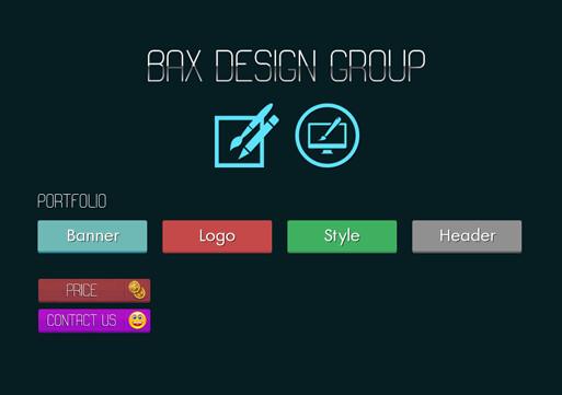 قالب زیبای بکس گرافیک به صورت HTML